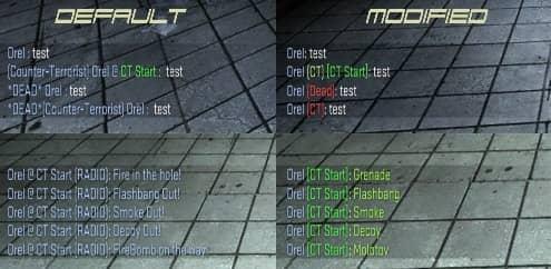 Text Mod патч для CS:GO