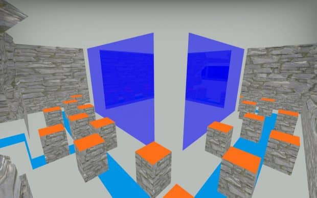 CS:GO карта bhop_yaw