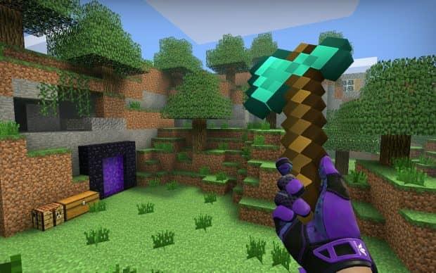 CS:GO оружие Minecraft Items
