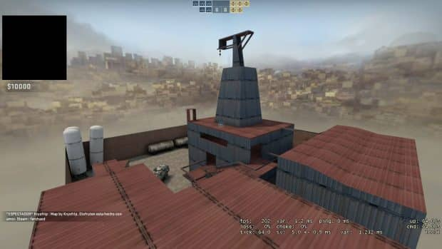 Карта zm_lila_panic_ose_csgo для CS:GO