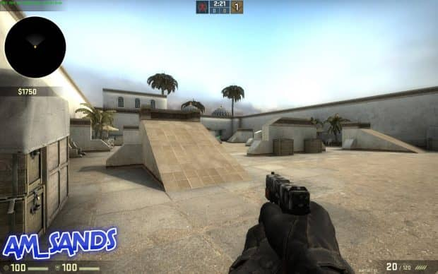 CS:GO карта am_sands