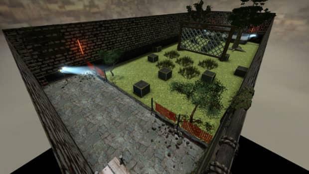 CS:GO карта bhop_azgor
