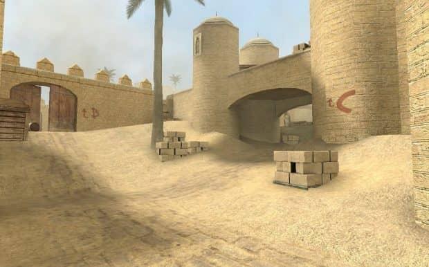 CS:S карта de_dust2_unlimited