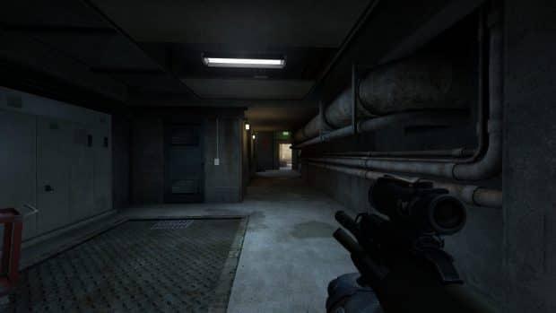 Инвентарь из красных предметов в CS:GO